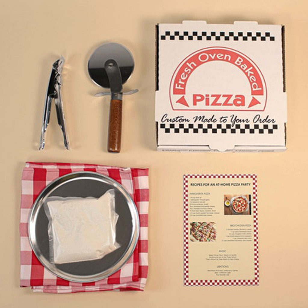 At-Home Pizza Party