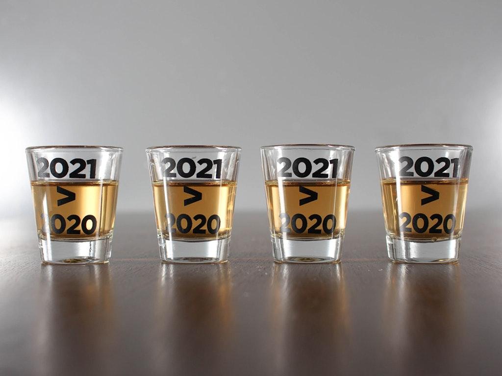 2021 > 2020 Shot Glasses